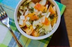 Insalata di finocchi e arance