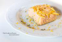 Filetti di salmone all'arancia
