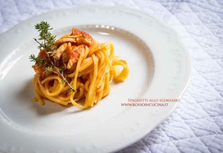 Spaghetti allo scorfano