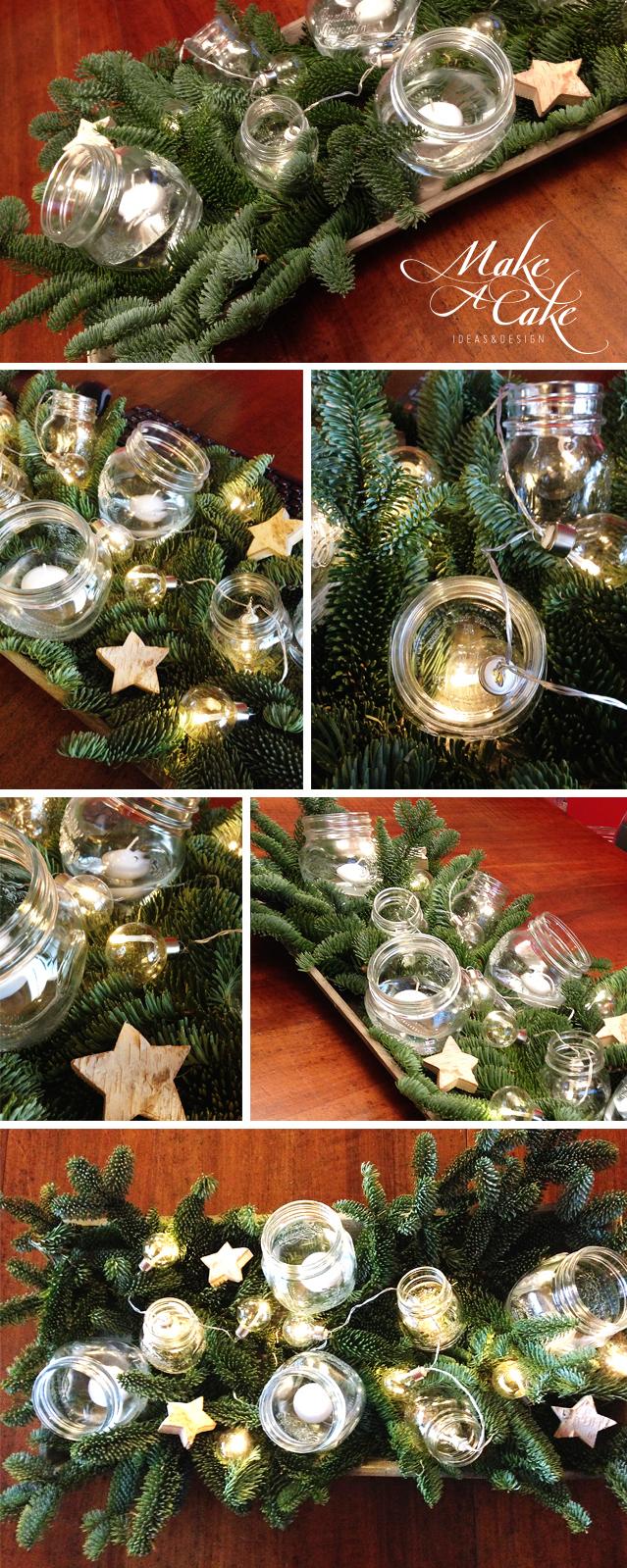 Segnatavolo e segnaposto per la tavola di Natale